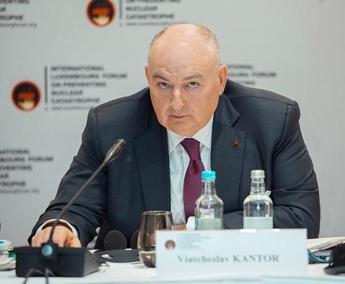 Президент ЕЕК Вячеслав Моше Кантор выразил соболезнования в связи с петербуржским терактом