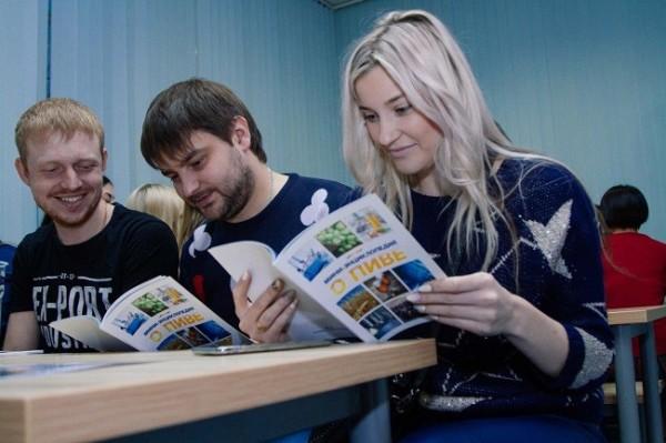 Студенты Новосибирска и других городов РФ побывали на заводах «Балтики»