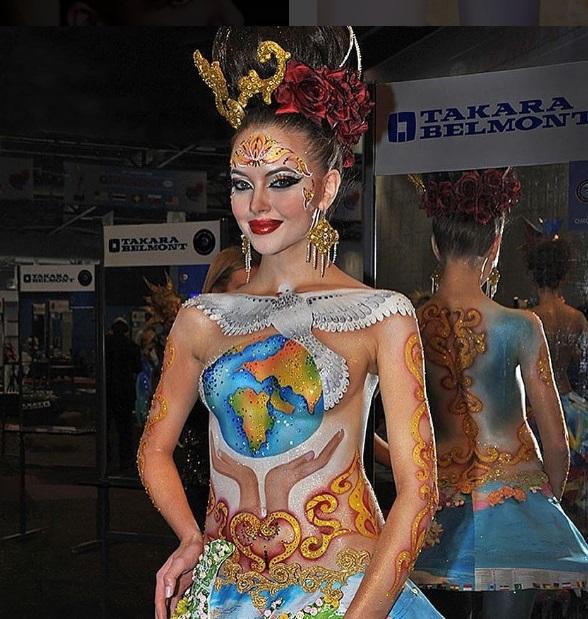 Парикмахер Людмила Железнюк стала двукратным чемпионом мира OMC Hairworld