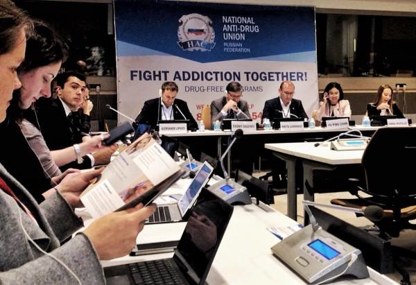 Российская делегация представит в Нью-Йорке проект «World without drugs»
