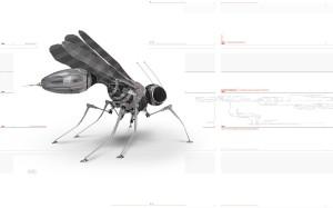 Робот размером с комара
