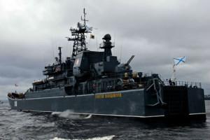 Строительство десантного корабля для ВМФ в Калининграде