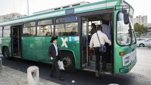 Палестинцы напали на автобус в Иерусалиме