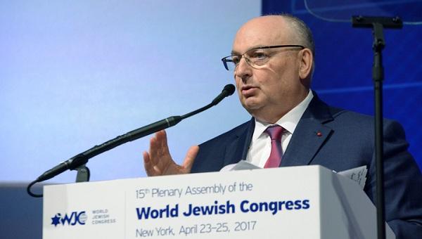Вячеслав Моше Кантор принял участие в памятной акции в бывшем Освенциме