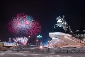 Правительство Петербурга провело тендер по закупке украшений для города к Новому году