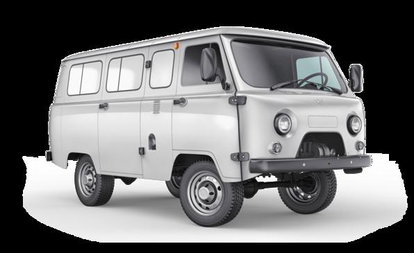 Нестареющий УАЗ «буханка» на новый лад