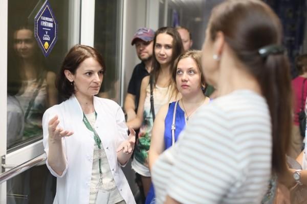 Сотрудникам Генерального Консульства ФРГ организовали экскурсию на сибирский филиал «Балтики»