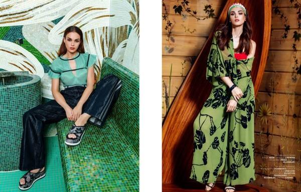 Cosmopolitan Kazakhstan пригласил Жаклин Сапперт принять участие в фотосессии в Москве