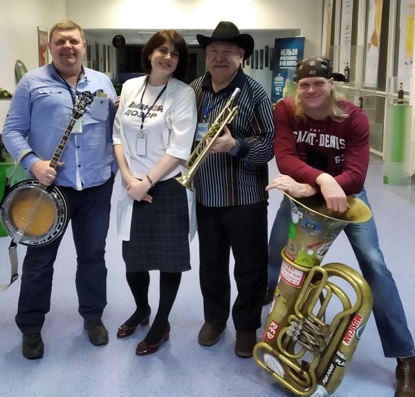 Слушателями проекта «Пивной сомелье» на «Балтике-Новосибирск» стали музыканты