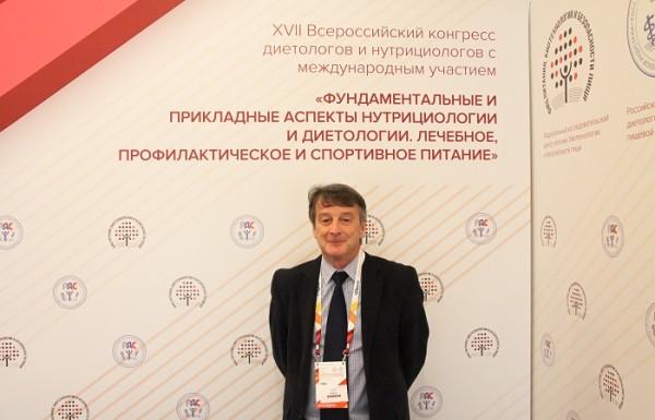О безопасности подсластителей рассказал на конгрессе в Москве Эшли Робертс