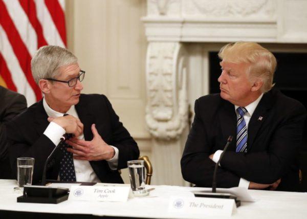 Apple облегчает рост фьючерсов перед решением ФРС