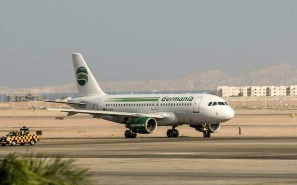 Авиакомпания Germania заявляет о банкротстве, отменяет все рейсы