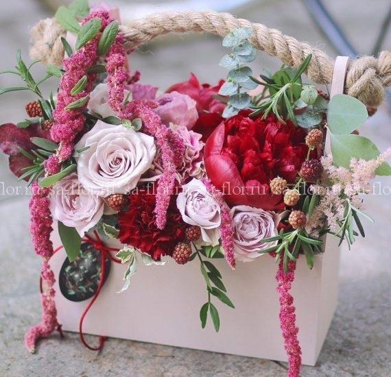 Авторские букеты от интернет-магазина SaFlor Flowers