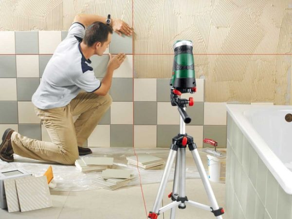 Плитка в ванной: способы и основные моменты укладки