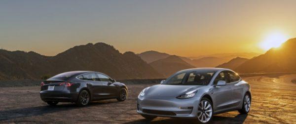 Начались поставки Tesla Model 3 в страны Восточной Европы