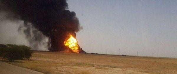 Произошел взрыв на иранском газопроводе