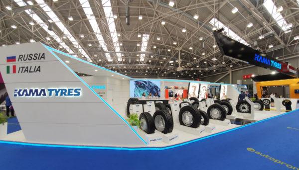 Продукция KAMA TYRES была представлена на международной выставке в Италии