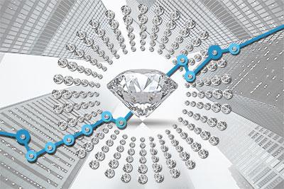 Великолепные украшения с бриллиантами доставит ювелирный интернет-магазин