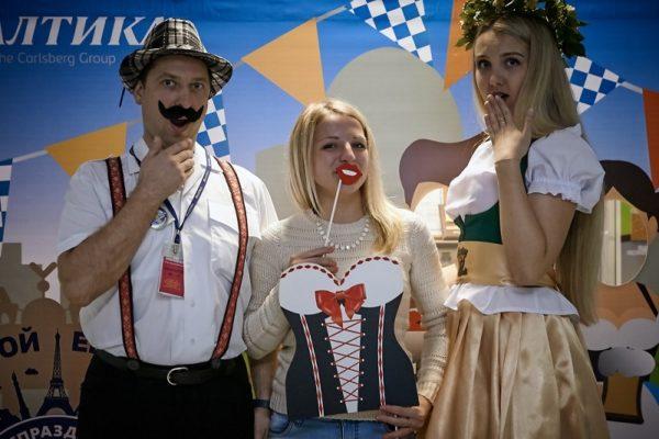 October beer festival на новосибирской «Балтике» – сюрприз для поклонников пива