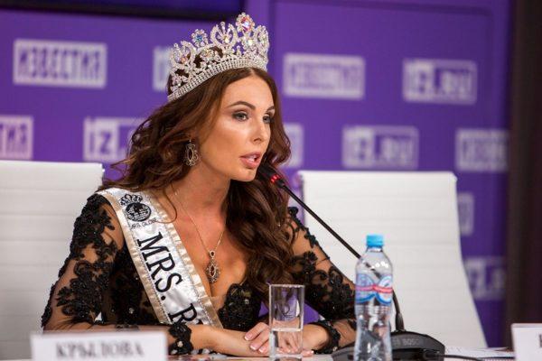 Ксения Кривко показала национальный костюм для конкурса «MRS. GLOBE 2019»