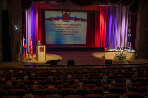 Перед общественностью Колпинского района Санкт-Петербурга выступил Михаил Романов