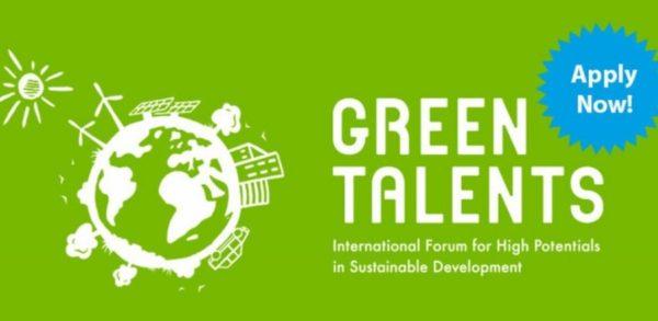 Прием заявок на участие в форуме «Green Talents award 2020» начали организаторы