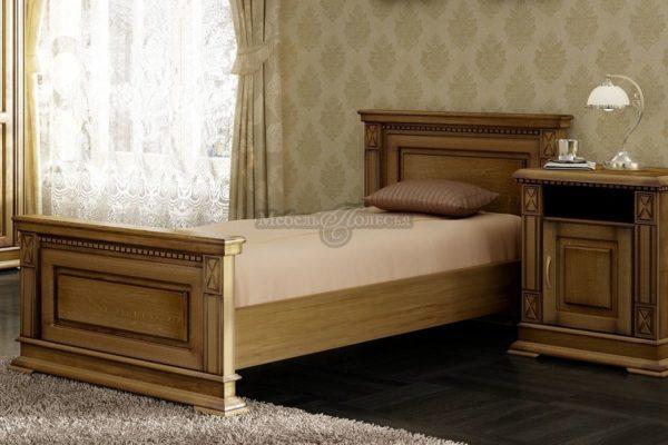 Кровати из натурального дерева от Белорусского производителя Пинскдрев в интернет-магазине Мебель Полесья