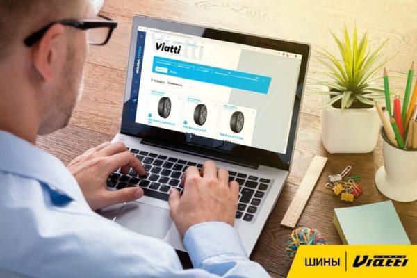 Viatti в лидерах продаж интернет-магазина KAMA TYRES