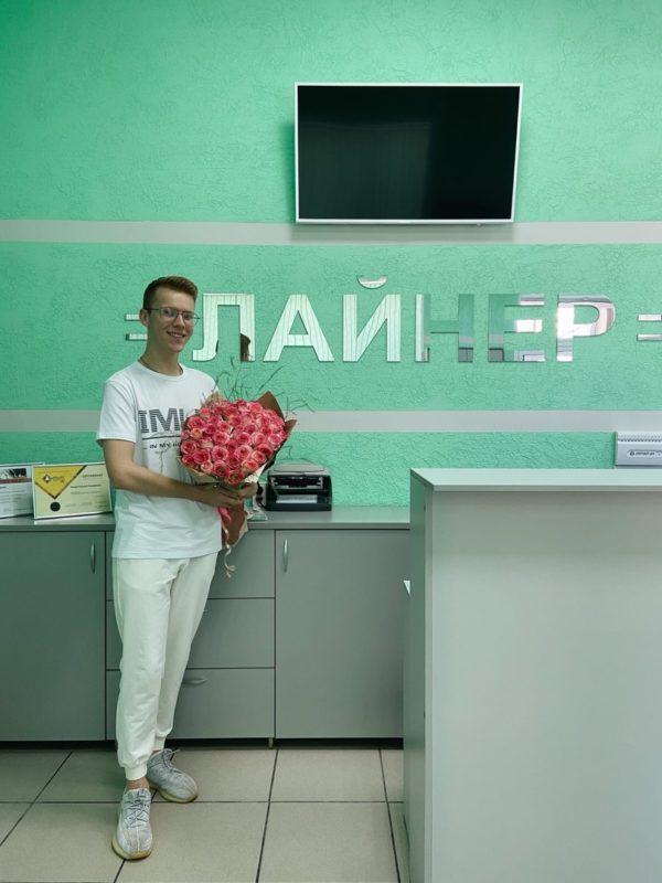 Вадим Стукалов поблагодарил Рязанского стоматолога Кикину Ирину Игоревну