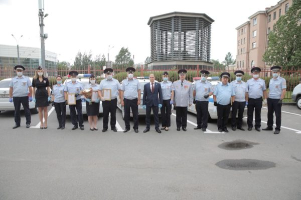 Михаил Романов посетил Отдел ГИБДД УМВД Фрунзенского района