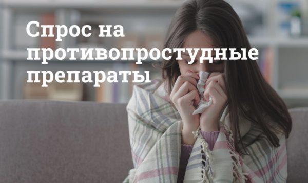 Мегаптека.ру: с чем связано в сентябре увеличение спроса на противопростудные препараты?