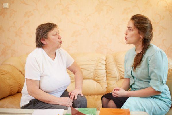 Восстановление речи - часть программы реабилитации