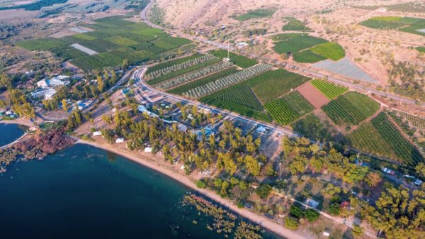 В Галилее обновлен парк отдыха и пляж Дога