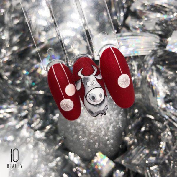 Готовимся к Новому году! 3 идеи новогоднего nail-дизайна от IQ BEAUTY