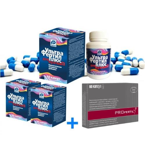 Ультрафертил Плюс - препарат для мужского здоровья