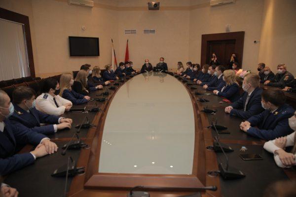 Михаил Романов провел встречу с сотрудниками прокуратуры Фрунзенского района Санкт-Петербурга