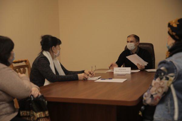 Михаил Романов провел личный прием жителей Фрунзенского района Санкт-Петербурга