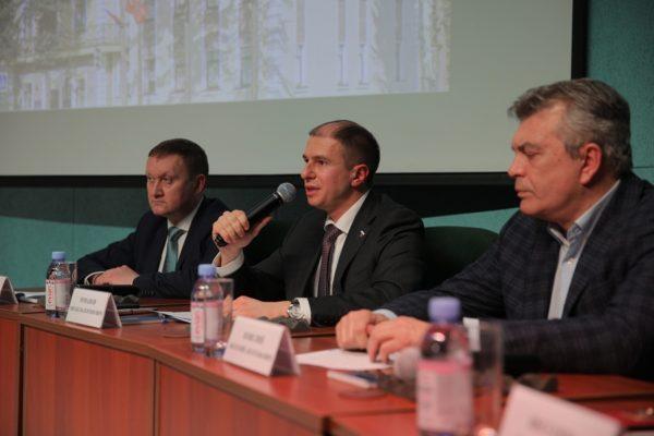 Михаил Романов посетил Отчет главы города Колпино о работе за 2020 год