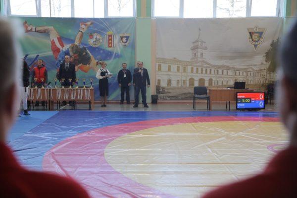 Михаил Романов дал старт соревнованиям Кубка городов воинской славы по борьбе самбо среди юношей